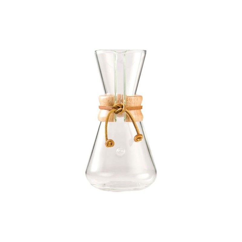 Chemex Classic Coffee Maker - 3 filiżanki - 0,45l - Ekspres przelewowy
