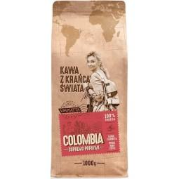 Kawa ziarnista z krańca świata Colombia Supremo Popayan 1kg