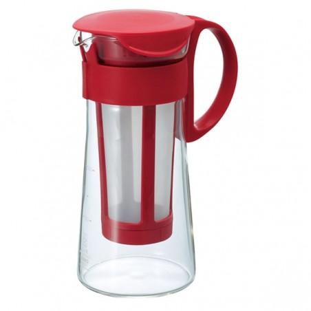 Hario Mizudashi Coffee Pot Mini czerwony 600ml