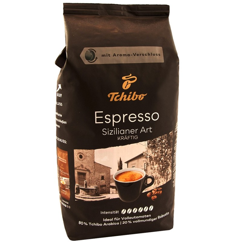 Kawa ziarnista Tchibo Espresso Sizilianer Art 1kg