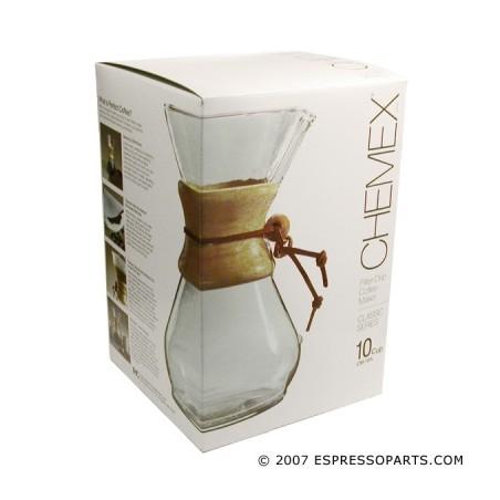 Chemex Classic Coffee Maker - 10 filiżanek - 1,4l - Ekspres przelewowy